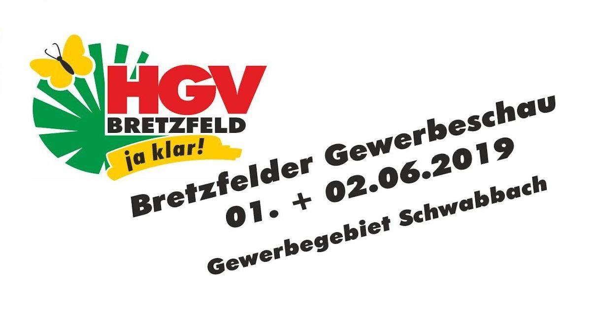 """7. Gewerbeschau """"Spektrum Bretzfeld""""  des Handels- und Gewerbevereins Bretzfeld e. V. am 1. und 2. Juni 2019"""